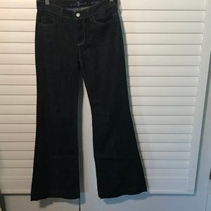 """7 for All Mankind dark wash """"Ginger"""" boot jeans 27"""